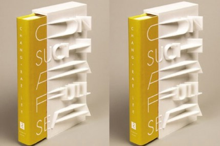 "Chang-rae Lee's ""On Such a Full Sea"" 3D printed book cover"