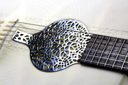 Scott Summit's 3D printed acoustic guitar